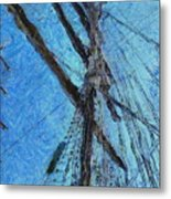 The Mast And The Wind Metal Print