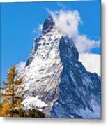 The Matterhorn Mountain Metal Print
