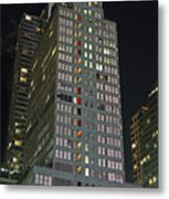 The Mcgraw Hill Building Metal Print
