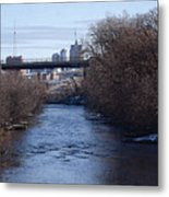 The Menomonee Near 33rd And Canal Streets Metal Print