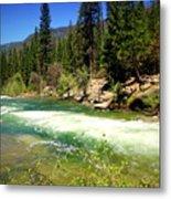 The Merced River In Yosemite Metal Print