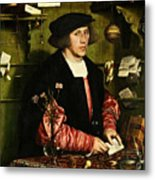 The Merchant Georg Gisze 1532 Metal Print