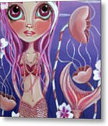 The Mermaid's Garden Metal Print