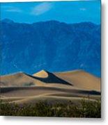 The Mesquite Dunes Metal Print