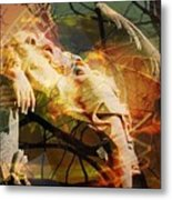 The Message Ignored Metal Print