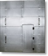 The Metal Door Metal Print