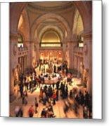 The Metropolitan Museum Of Art Metal Print