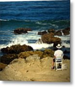 The Mighty Pacific Grab A Chair And Watch The Show Three Metal Print