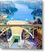 The Mike O'callaghan Pat Tillman Memorial Bridge Metal Print