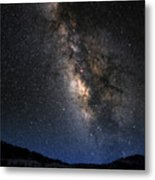 The Milky Road Version Two Metal Print