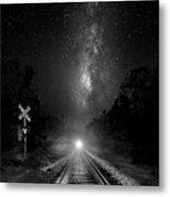 The Milky Way Express Metal Print