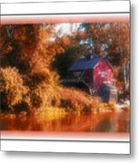 The Mill Greeting Card Metal Print