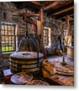 The Milling Room Metal Print by Mark Papke