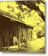 The Millwrights Shed Metal Print