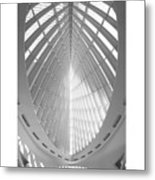 The Milwaukee Art Museum Metal Print by Mike McGlothlen