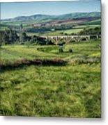 The Milwaukee Road Railroad Viaduct Near Rosalia Wa Dsc05095 Metal Print