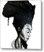 The Mind Of Africa Metal Print