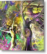 The Miraculous Conception Metal Print