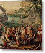 The Miraculous Draught Of Fishes Metal Print