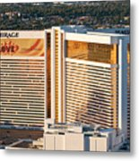 The Mirage Hotel Metal Print by Andy Smy