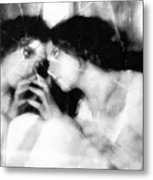 The Mirror Twin Metal Print