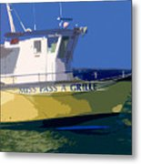 The Miss Pass A Grille Metal Print