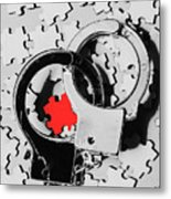 The Missing Puzzle Piece Metal Print