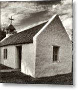 The Mission In Mission Metal Print