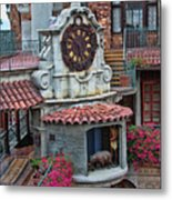 The Mission Inn Clock Tower Metal Print