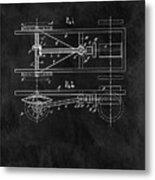 The Model T Patent Metal Print