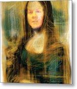 The Mona Lisa Metal Print