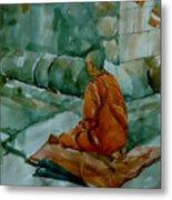 The Monk Metal Print
