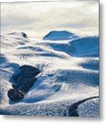 The Monte Rosa Glacier In Switzerland Metal Print