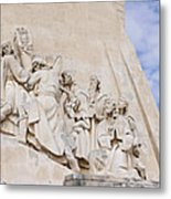 The Monument To The Discoveries Metal Print