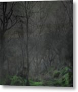 The Moon Over Guisecliff Metal Print