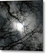 The Moon Prevails  Metal Print