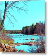 The Moose River At Lyonsdale Metal Print