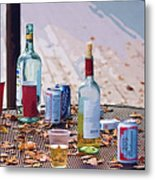 The Morning After The Party Metal Print