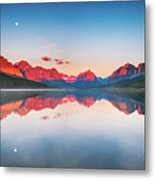 The Morning Tranquility Metal Print