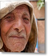 The Moroccan Man Metal Print