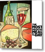 The Most Imported Meal Metal Print