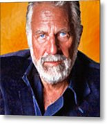 The Most Interesting Man In The World II Metal Print