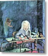 The Mother Of Sonia Gramatte By Walter Gramatte Metal Print