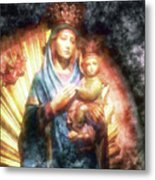 The Mother Of The King Is Queen Metal Print