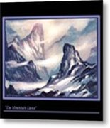 The Mountain Lions Metal Print