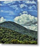 The Mountain Meets The Sky Metal Print