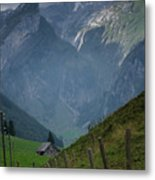 The Mountains Of Switzerland Metal Print