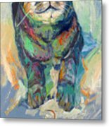 The Mouse Metal Print