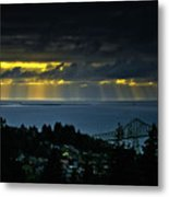 The Mouth Of The Columbia River Metal Print