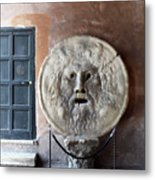 The Mouth Of Truth Metal Print